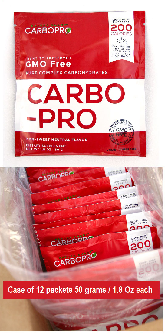 CARBO-PRO Packets - 50 G / 1.8 Oz CASE QTY 12